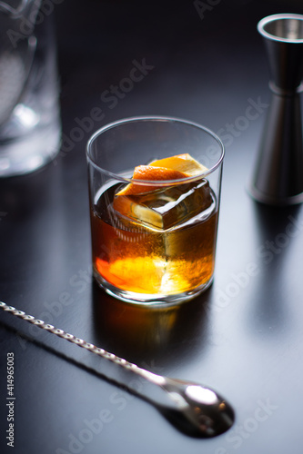 Old Fashioned Craft Cocktail © jedisense
