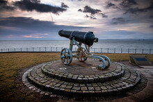 Cannon At The Beach
