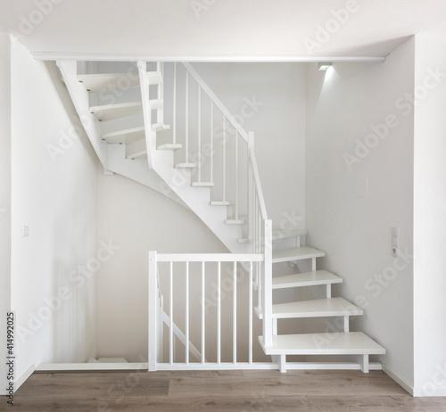 Canvas Print Treppe und Treppenhaus in Wohngebäude