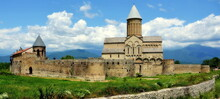 Alaverdi Monastery Is A Georgian Orthodox Monastery In The Cachezia Region Of Eastern Georgia. Parts Of The Ancient Monastery Date Back To The 6th Century. The Current Cathedral Dates Back To The 11th