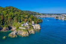 Dartmouth Castle Guarding The Entrance To The River Dart, Dartmouth, Devon