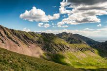 Rugged Mountains In The Sangre De Cristo Wilderness, Colorado