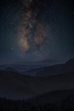Vía Láctea Sobre Montañas