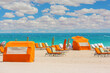 canvas print picture Beach