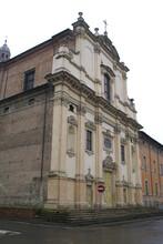 Fidenza, Italy: The Parish Church Of St. Michael Archangel