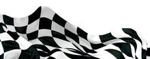 Finish Flag 3d Digital Race Banner