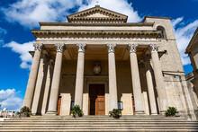 Basilica Of San Marino-Pieve, Historic Center, San Marino