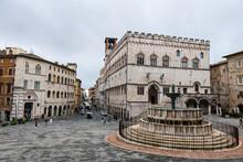 Palazzo Dei Priori, Historic Center Of Perugia, Umbria