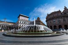 Piazza De Ferrari, Genoa, Liguria