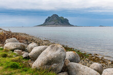 Huge Monolith In The UNESCO World Heritage Site, The Vega Archipelago