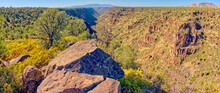 Panorama Of Rattlesnake Canyon Southeast Of Sedona In The Wet Beaver Wilderness