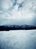 Widok na góry Tatry.