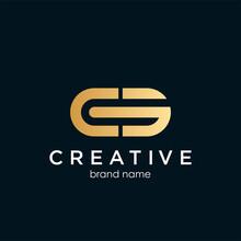 CG,GC ,C ,G Abstract Letters Logo Monogram