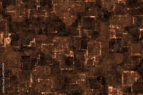 Obraz creative beautiful red cyber optic wire shining computer art background texture illustration - fototapety do salonu
