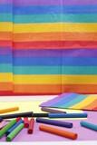Fototapeta Tęcza - Równość tolerancja tęcza wielokolorowy