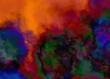 abstract gradient fractal colorful grunge image paint background bg texture wallpaper art frame sample illustration board