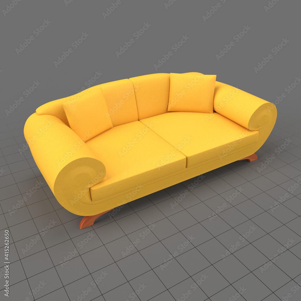 Fototapeta Modern sofa 1