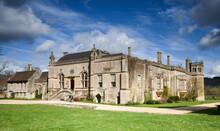 Exterior Facade Of Lacock Abbey, Wiltshire, UK