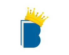 Book With B Letter Initial And Crown