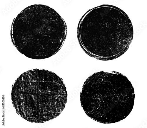 Obraz dirty round stamps - fototapety do salonu