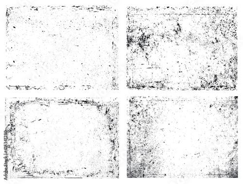 Fototapeta abstract grunge overlay textures obraz na płótnie