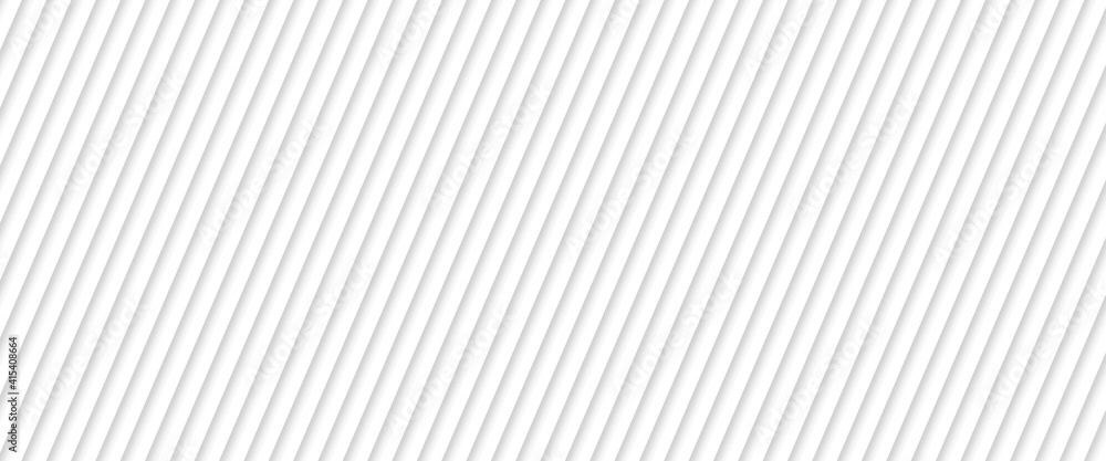 Fototapeta Abstract white striped background with diagonal lines. Vector abstract background for banner design. blend lines with oblique stripe vector illustration