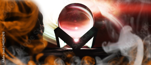 Fototapeta Magic ball predictions
