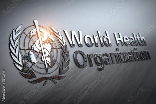 World Health Organization sign and symbol. © Maksym Yemelyanov