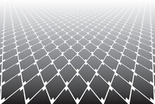 Abstract Geometric Diamonds Pattern In Diminishing Perspective
