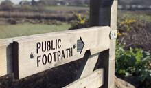 Public Footpath, RSPB Marazion Marsh, Nature Reserve, Penzance, Cornwall