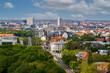 Blick über die Stadt Leipzig