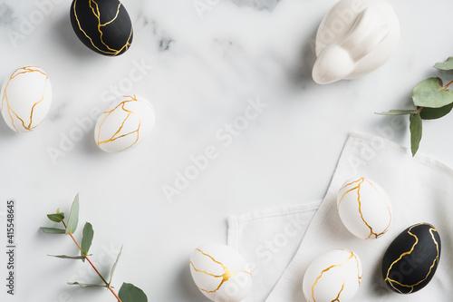 Fotografia Easter flat lay composition