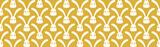 Żółte tło z białymi zajączkami na wielkanoc