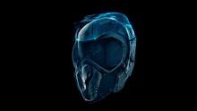 3d Rendered Illustration Of Fighter Pilot Helmet. High Quality 3d Illustration