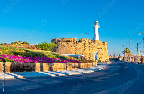 Fotografie, Obraz Canbulat Bastion view in Gazimagusa Town of Northern Cyprus