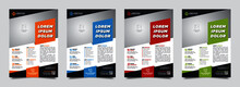 Modern Template, In4 Colour Variation. Print Ready (300 Dpi, CMYK, Bleed) And Modern Design, Perfect For Creating A Professional Business, City Concept In A4 Layout