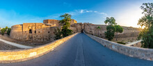 Othello Castle In Gazimagusa Town Of Northern Cyprus