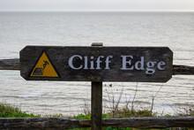 Cliff Edge Sign