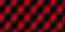 Dark Red And Black Geometric Grid Carbon Fiber Background Modern Dark Abstract Seamless Vector Texture