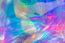 Colorful Holographic Background. Can Be Used For Brochures, Banners, Postcards Or Other