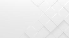 White Tiled Business Style Background (3D Illustration)