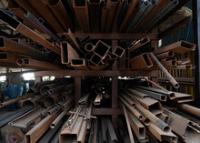 Remnant Of Metal,steels For Industry Recycle Old Irons