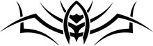Vector Symbol, Ornament, Tattoo. Beautiful Vector Illustration. Drawings On The Body, Ancient Symbols.