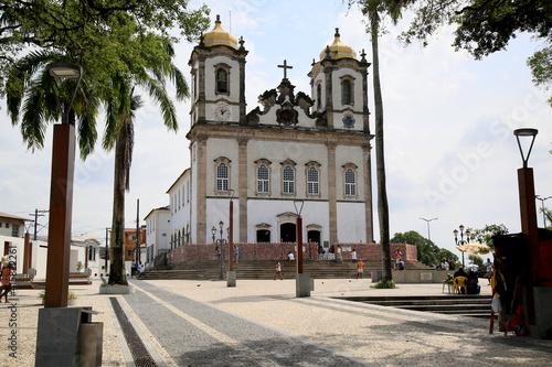 Canvas Print salvador, bahia, brazil - february 17, 2021: mass in the Basilica of Senhor do Bonfim celebrates the beginning of Lent for Catholics in the city of Salvador