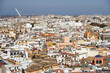 Aerial view of Seville, Andalusia, Spain, Europe.
