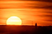 Sunset Over Beavertail Lighthouse, Jamestown, RI #2