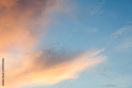 Fototapety, obrazy: sky with soft warm colors