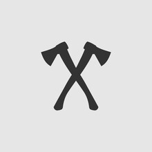 Vector Simple Isolated Crossed Axes Icon