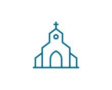 Abstract Real Estate Church Logo 2