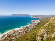 Aerial View Of Kalk Bay Harbour, Cape Town, South Africa